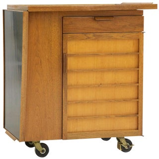 1950's Edward Wormley Party Server Bar For Sale