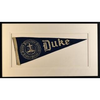 1970s Americana Duke University Pennant For Sale