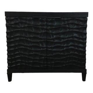 Universal Furniture Modern Black Wood Bar For Sale