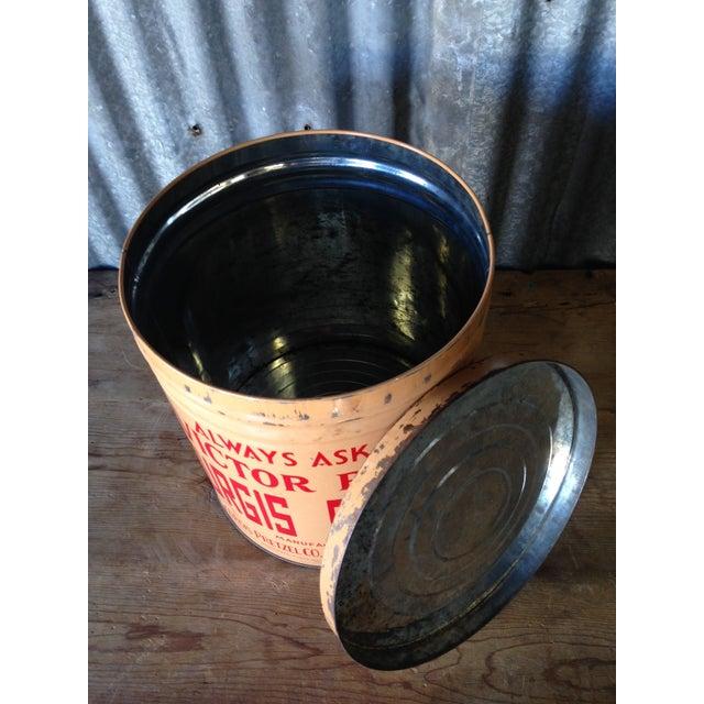 Vintage Eat Economy Pretzels Container - Image 5 of 6