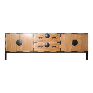 Japanese Style Tv Tansu on Legs For Sale