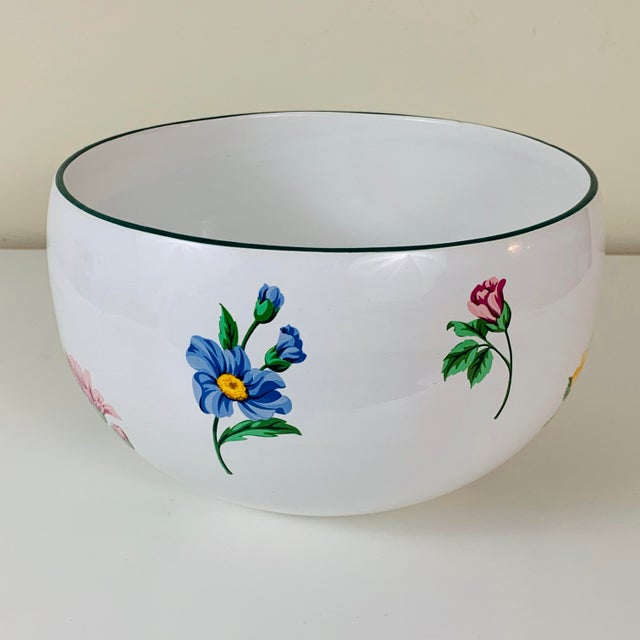 White Tiffany & Co. Porcelain Sintra Serving Bowl For Sale - Image 8 of 8