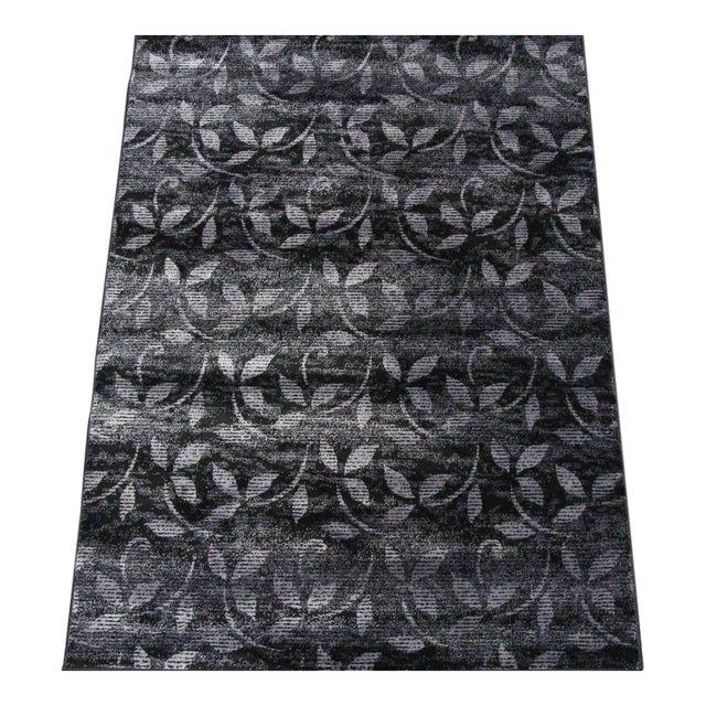 Floral Pattern Contemporary Rug - 5′ × 8′ - Image 1 of 4