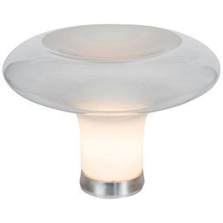Large 1960s Angelo Mangiarotti for Artemide 'Lesbo' Table Lamp For Sale