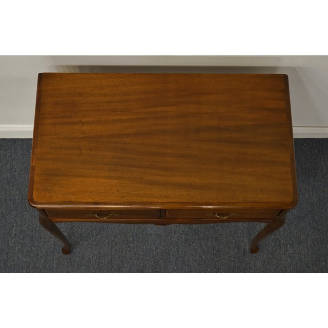 """1960s 1960s Vintage Antique Country French Walnut 35"""" Vanity For Sale - Image 5 of 12"""