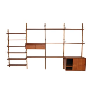 Danish Modern Poul Cadovius Royal System - 1960s For Sale