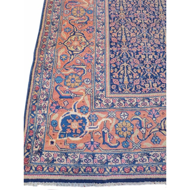 Islamic Tabriz Persian Rug - 7′4″ × 11′5″ For Sale - Image 3 of 6