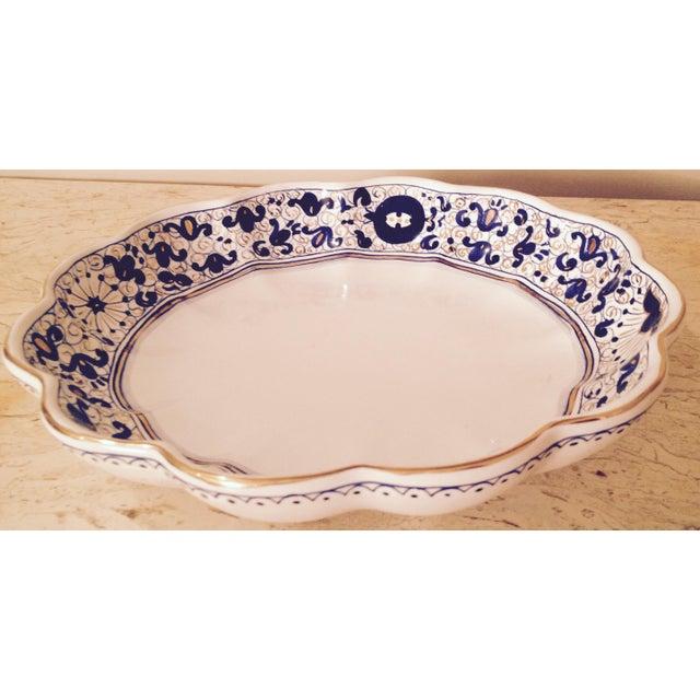 Italian Fine China Porcelain 24 Karat Gold Dish - Image 2 of 7