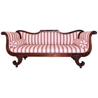 Early 19th Century Mid-Atlantic Classical Sofa For Sale