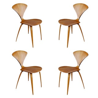 Plycraft Sculptural Dining Chairs by Norman Cherner For Sale