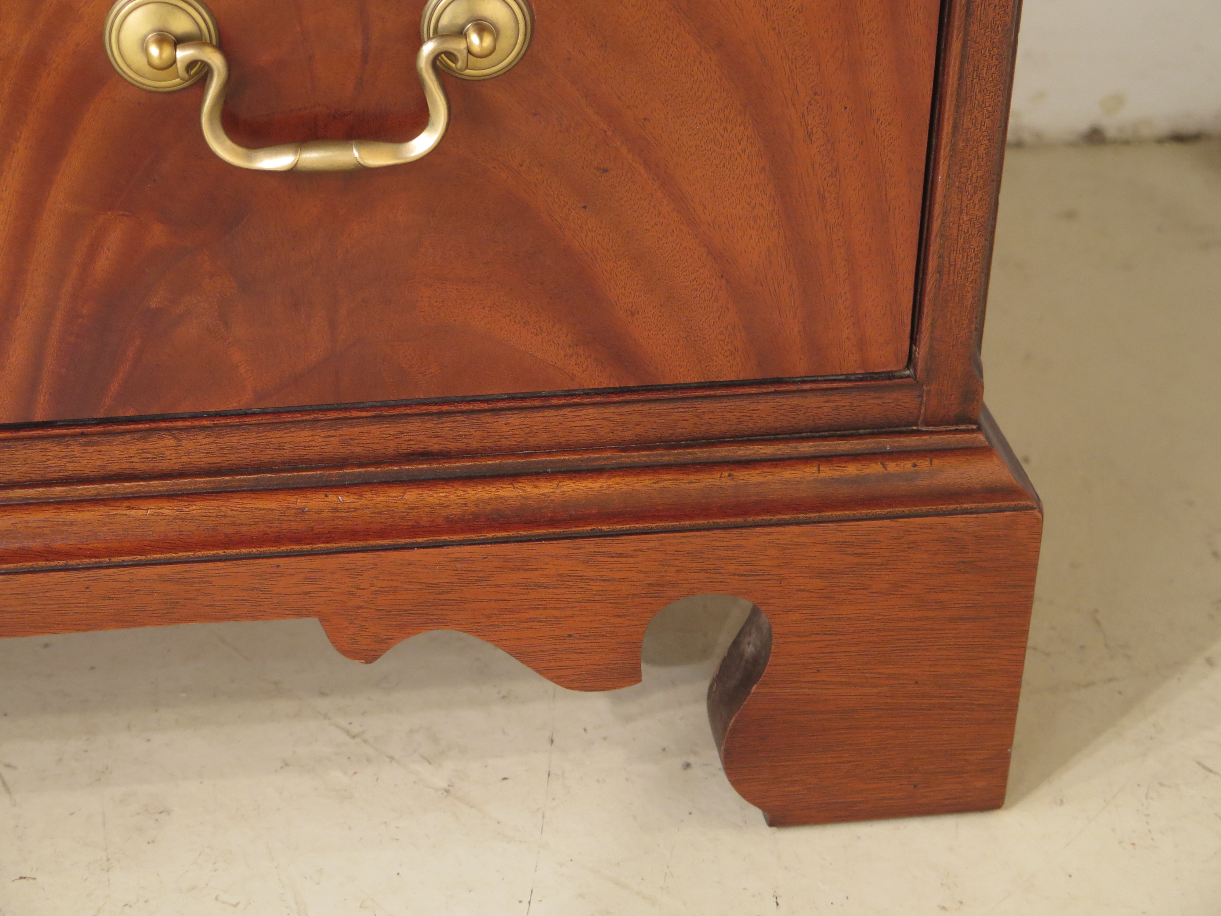 Hickory Chair Co. Mahogany Armoire Bedroom Chest For Sale In Philadelphia    Image 6 Of