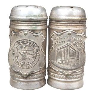 Commemorative Salt & Pepper Shakers - Grand Rapids Michigan