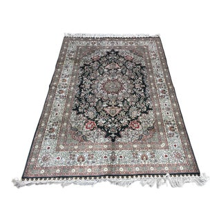 "Nain Silk Rug 78"" X 49"" For Sale"