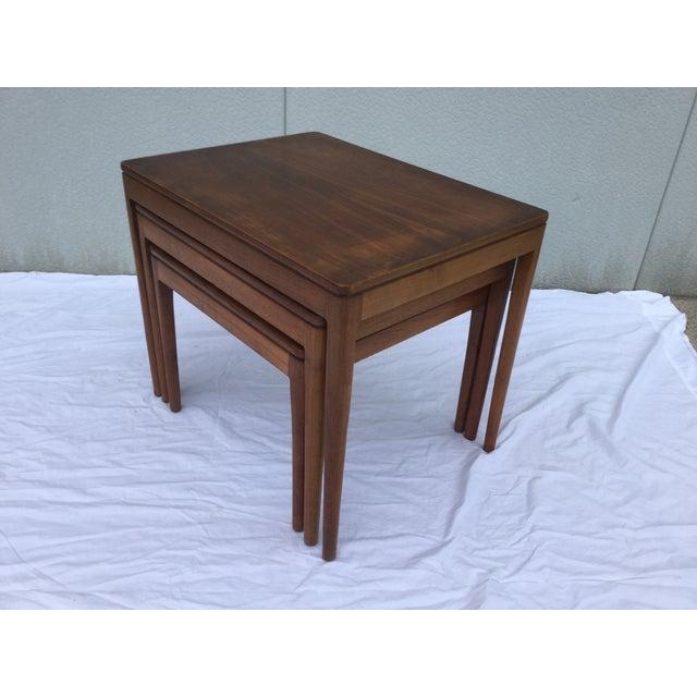 1960's Modern Drexel Declaration Nesting Tables - Image 6 of 9
