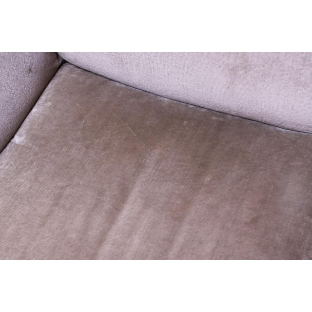 1970s Tentazione Sofa by Mario Bellini for Cassina in Original Sage Velvet For Sale - Image 9 of 13