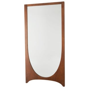 Broyhill Brasilia Mid Century Modern Wall Mirror For Sale