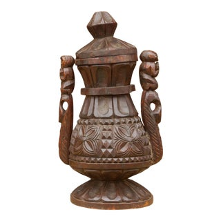 Large African Tribal Beer Pot For Sale