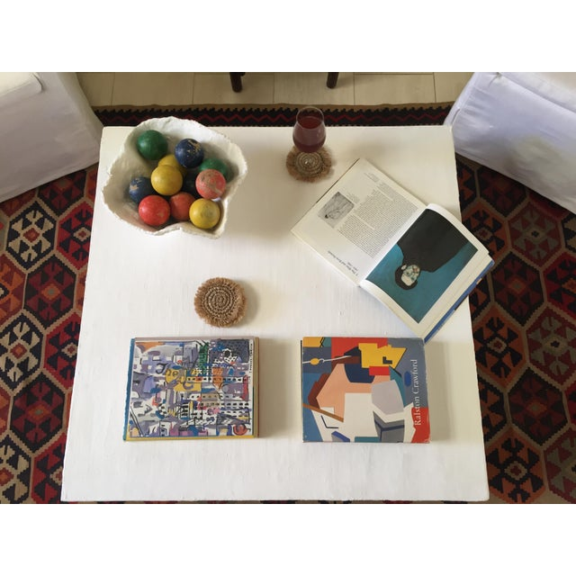 Not Yet Made - Made To Order Raw Plaster Mid-Century Modern Inspired Coffee Table For Sale - Image 5 of 6