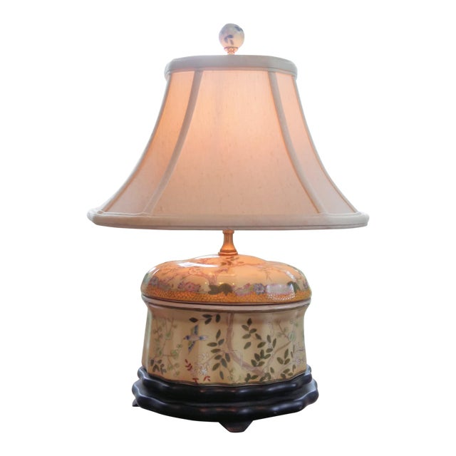 Chinese Oval Jar Lamp - Image 1 of 9