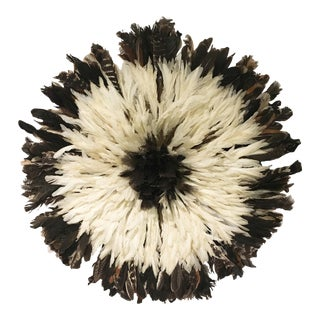 African Feathered Juju Hat
