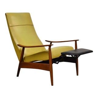 Milo Baughman Reclining Lounge Chair For Sale