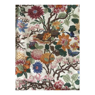 G P & J Baker Magnolia Colorful Linen Fabric - 10 Yards For Sale