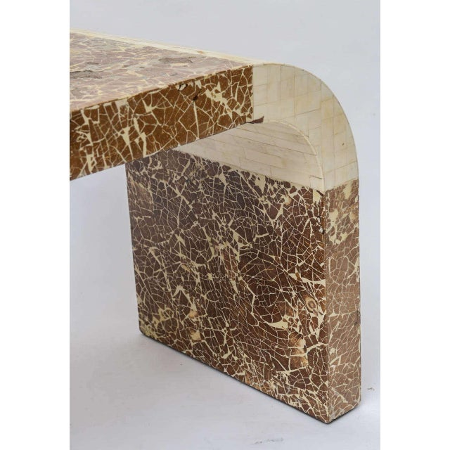 Coconut & Bone Waterfall Stool For Sale In Miami - Image 6 of 10