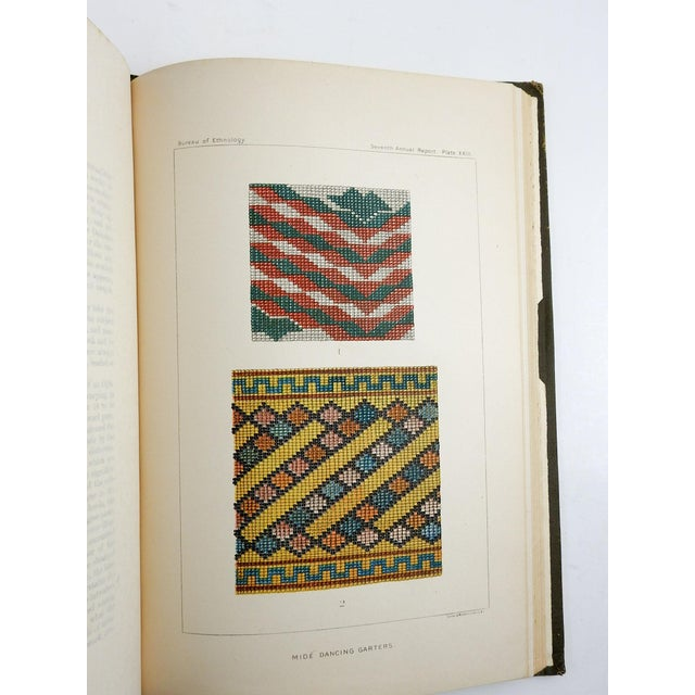 "Late 19th Century ""Report of the Bureau of Ethnology: To the Secretary of the Smithsonian"" Book For Sale - Image 4 of 9"