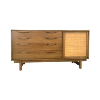Lawrence Peabody Mid-Century Oak Credenza For Sale