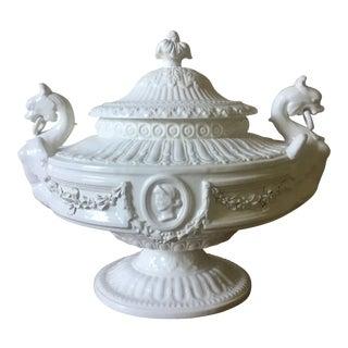 Vintage Porcelain Italian Tureen For Sale