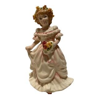 1993 Royal Doulton Flower Girl Figurine For Sale