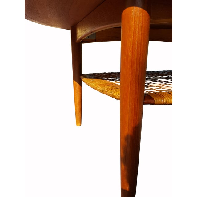 Johannes Andersen Danish Mid-Century Modern Teak Coffee Table - Image 4 of 4