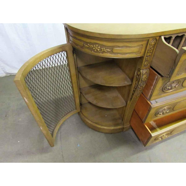 Antique Carved French Sideboard - Image 10 of 11