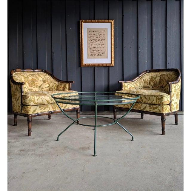 Green Midcentury Modern Maurizio Tempestini for Salterini Patio Table For Sale - Image 8 of 9