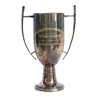 1940s English Gardening Trophy For Sale