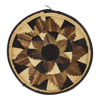 Large Sunburst Bohemian Basket