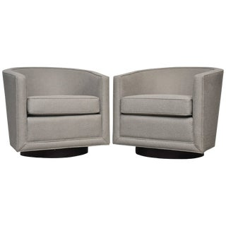 Dunbar Swivel Lounge Chairs For Sale