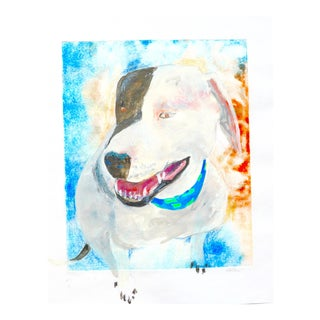 Contemporary Painting, Happy Dog For Sale