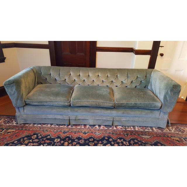 Loved this luxe sofa instantly but my 6'3 husband would like something with a deeper seat. The color has to be seen and...