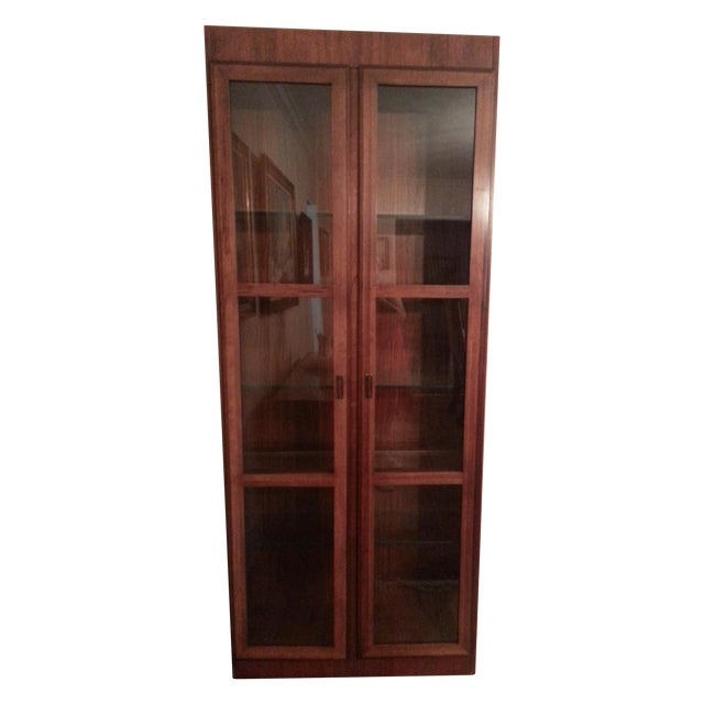 Mid-Century Modern Founders Crystal Cabinet - Image 1 of 8