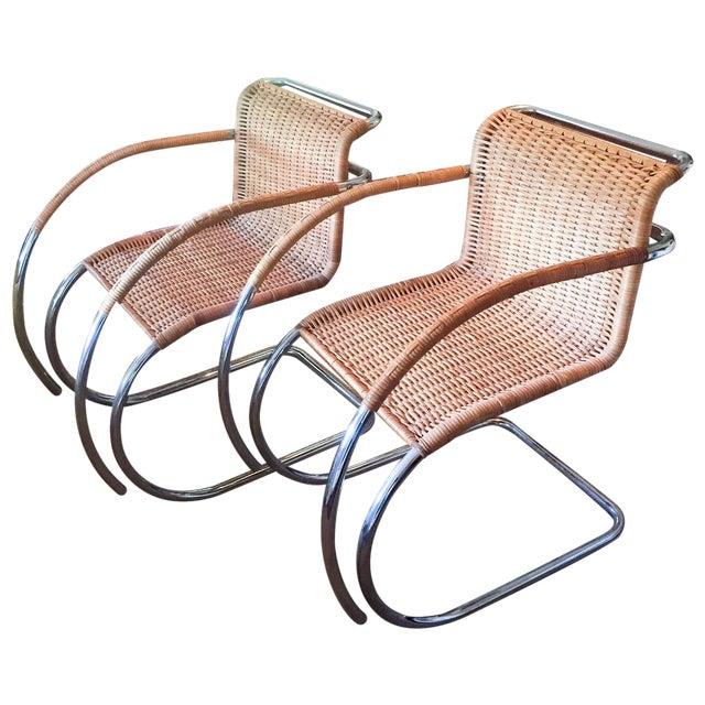 MCM Mies Van Der Rohe - Mr 20 Chairs - Set of 6 - Image 1 of 13