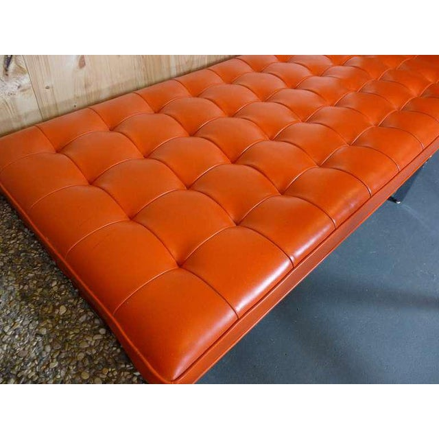 Metal Rare Bench by Erwin and Estelle Laverne For Sale - Image 7 of 9