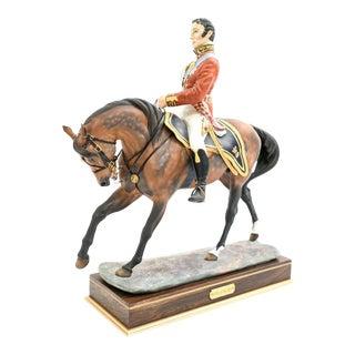 Worcester Royal Porcelain Duke of Wellington Sculpture For Sale