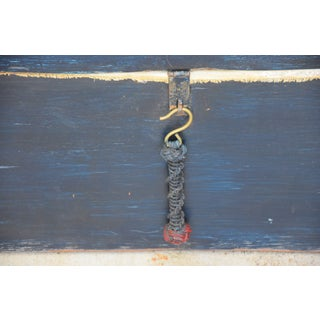 Nautical Seaman's Trunk Chest W/ Braided Rope Handles Preview