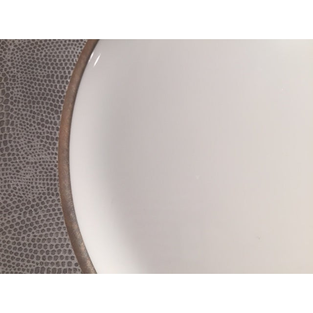 Bernardaud Sauvage Pattern Dinnerware Set of 8 Dinner and Salad (Or Dessert) Plates For Sale In New York - Image 6 of 13