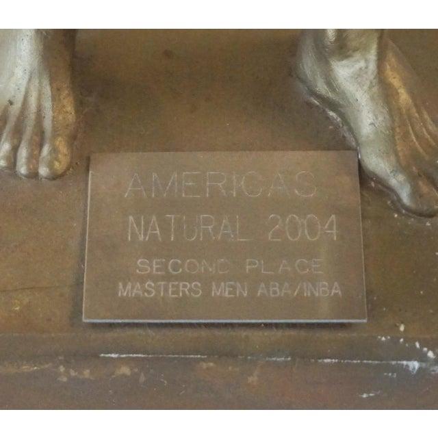 1980s Niels Andersen Muscle Man Trophy For Sale - Image 5 of 9