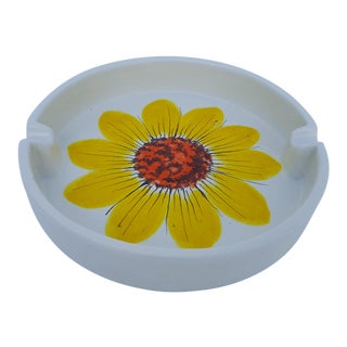 Italian Rosenthal Netter Ceramic Ashtray For Sale