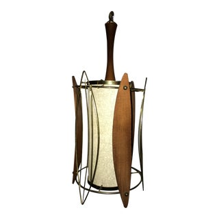 1970 Mid Century Modern Hanging Lamp For Sale