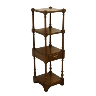 Pennsylvania House Solid Walnut Accent Tier Shelf For Sale