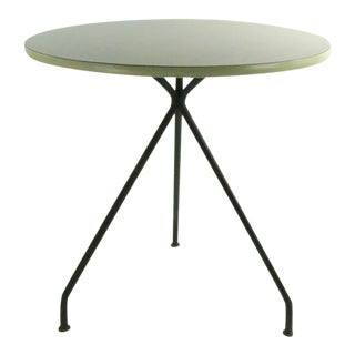 Mid Century Cafe Dining Table For Sale